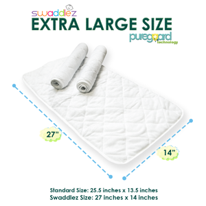 Extra large changing pad liners
