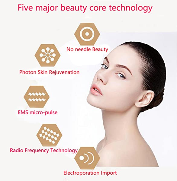 Mesotherapy Electroporation Rf Radio Frequency Facial Led Photon Skin Care Device Face Lifting Tighten Eye Facial Care Amazon Ca Beauty