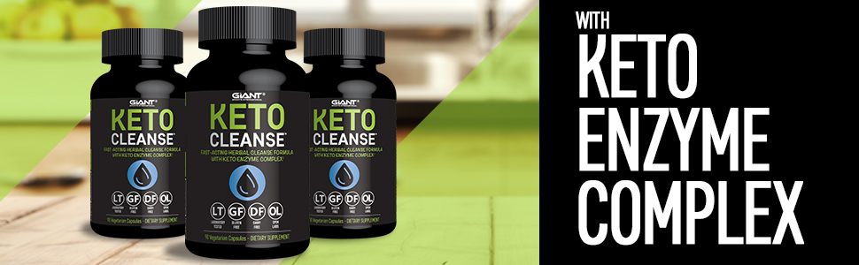 GIANT SPORTS INTERNATIONAL KETO CLEANSE FAST ACTING HERBAL CLEANSE FORMULA - MYSEXYHEALTH