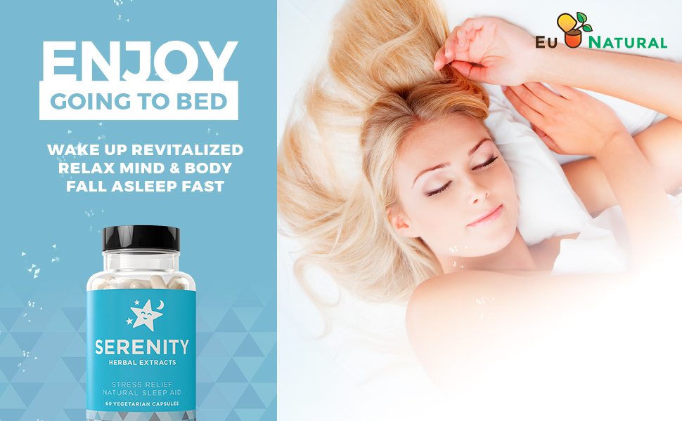SERENITY Natural Sleep Aid Insomnia