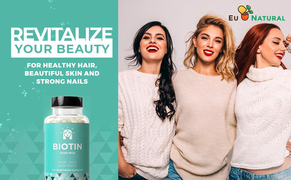 BIOTIN 5000 Hair Skin Nails