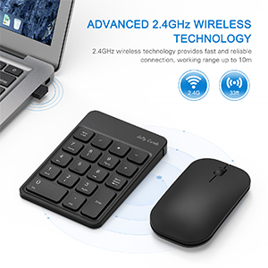 numeric keypad and mouse combo