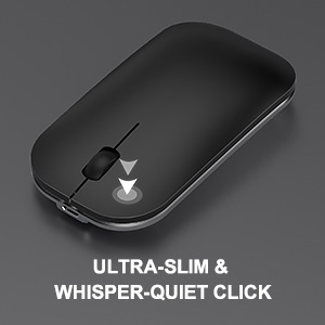 full size aluminum rechargeable wireless keyboard mouse (7)