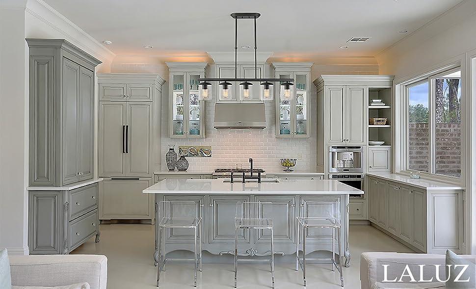 Long Hanging Kitchen Lights