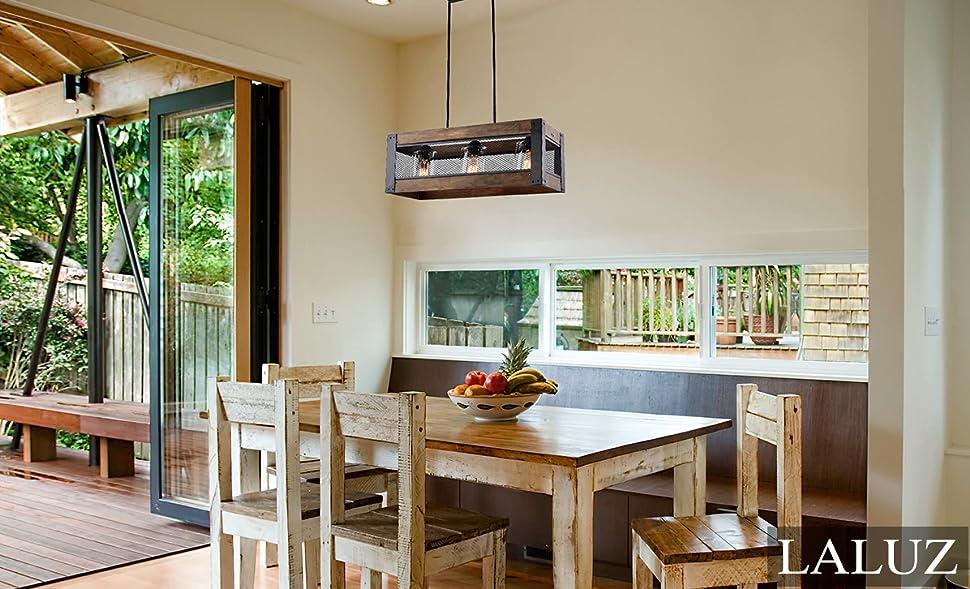 kitchen island lighting hanging. 3-light Wood Kitchen Island Lighting Hanging Pendant Chandeliers T