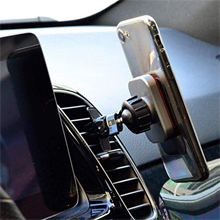 Car Mount, Glamore Car Phone Mount Car Phone Holder for Car Magnetic Phone  Car Mount for iPhone Xs Max XR X 8 7 Plus 6S 6, Galaxy S9 S8 S7 Edge, LG