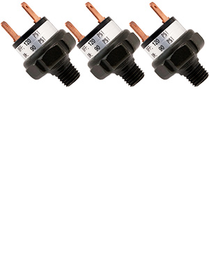 Bundle of Three switches VXA6120-3 Vixen Horns 90-120 PSI Air Pressure Switch Tank Mount Type 1//8 NPT 12V//24V for Train//Air Horn