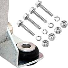 vibration isolators and mounting hardware