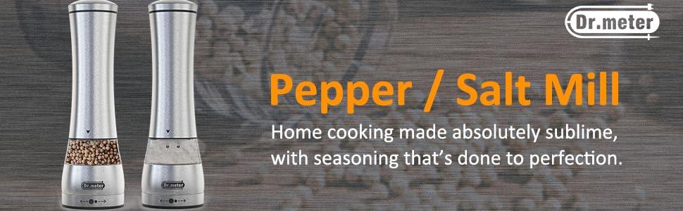 pepper and salt grinder