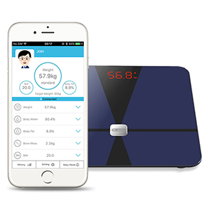 digital bluetooth scale