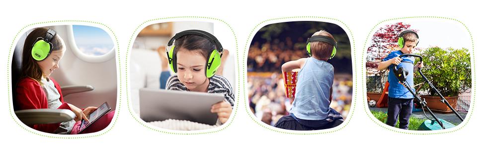 kids protective earmuff