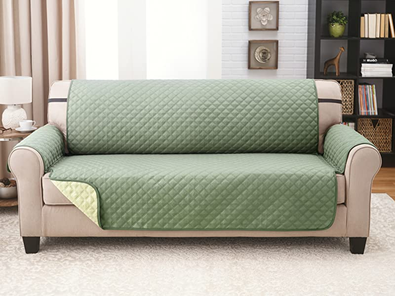Amazon Com Deluxe Original Reversible Couch Slipcover