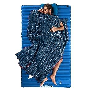 lightest down sleeping bag