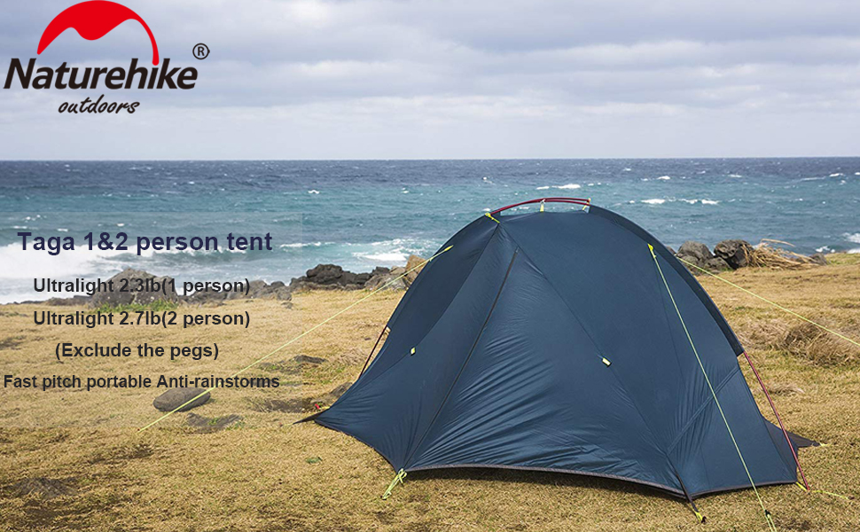 Licht Gewicht Tent : Amazon naturehike taga single person tents for camping