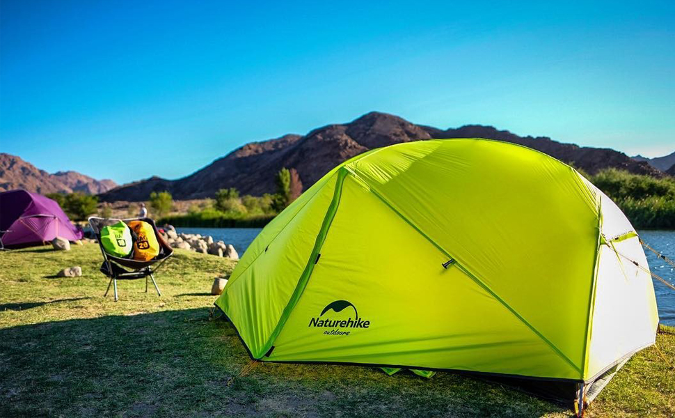 Amazon.com : Naturehike Mongar 2 Person Backpacking Tent 3