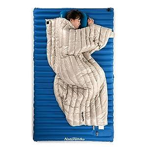 lightweight goose down sleeping bag