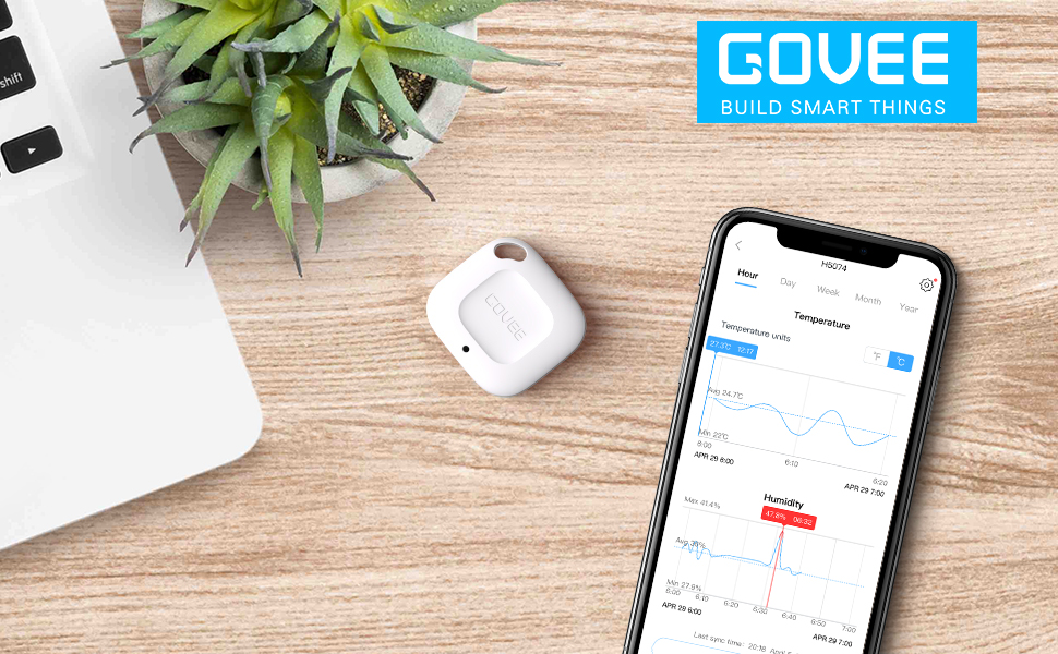 Govee Accurate Bluetooth Hygrometer Thermometer