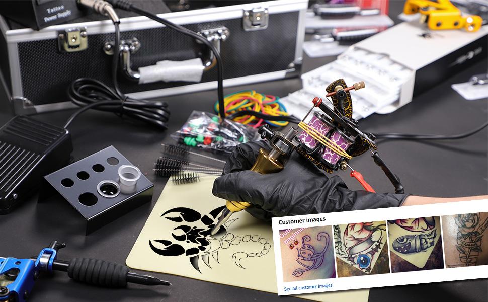comlete tattoo kit