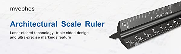 Architectural Scale Ruler