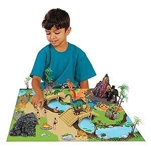 Amazon Com Imagination Generation 100 Piece Dinosaur And