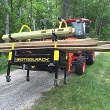 Amazon.com: bigtoolrack Pro Series 3 puntos compacto Tractor ...