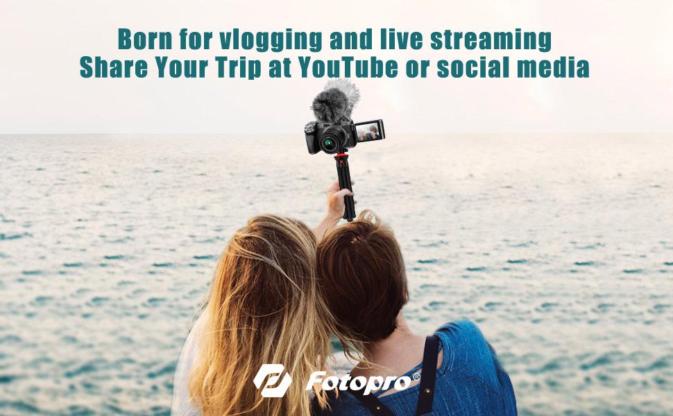 vlogging tripod