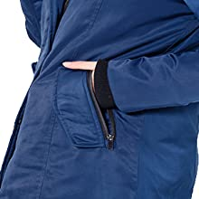 Orolay Womens Down Jacket with Removable Hood Winter Down Coat