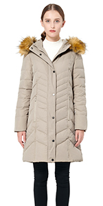 c9bb45b77 Amazon.com: Orolay Women's Thickened Down Jacket (Most Wished &Gift ...