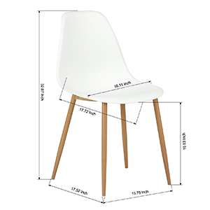 dimension about the dining chair