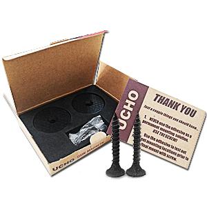 8f41e9001 Amazon.com : UCHO Officreative Gun Magnet Mount - Coated Magnetic ...