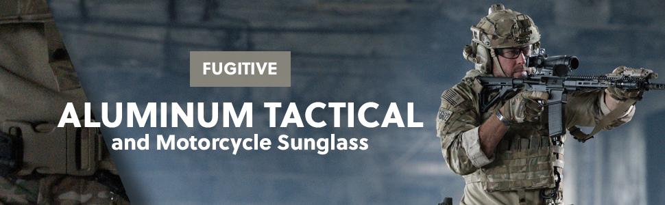 e7384749ec Amazon.com  Fugitive Aluminum Sunglass Black Polarized Gray  Clothing