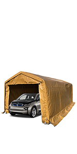 Amazon.com: kdgarden 10' x 20' Heavy Duty Carport Portable ...