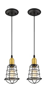 1light pendant light 2pack
