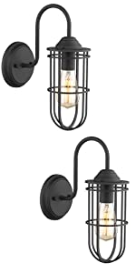 Cage Wall Light 2pack
