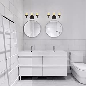 3 light for bathroom