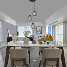3 Light Dinning room