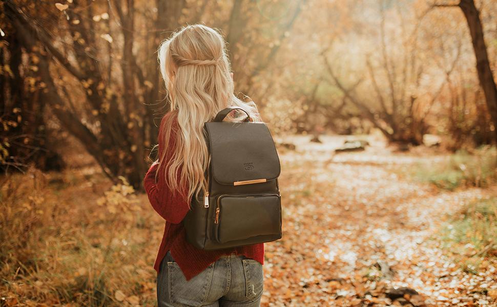 COOFIT Womens Backpack Fashion Casual Multi-purpose Travel Bag School Bookbag Shoulder Bag for Ladies Girls