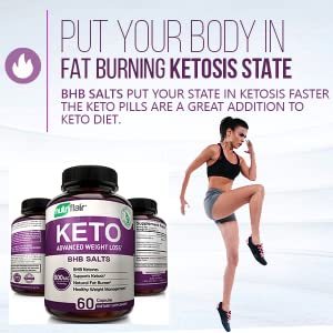 Potent BHB Salts. Highly effective supplement keto weight loss