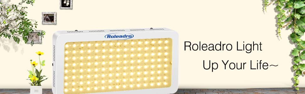 Amazon Com Roleadro Led Grow Light 1200w 2nd Generation