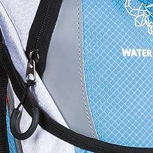 water resistant, lightweight, water backpack, water bag, nylon, ripstop, snowboarding, skiing