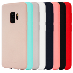 Goospery Soft Feeling Jelly for Samsung Galaxy S9 Case (2018) Silky Slim Bumper Cover (Mint) S9-SFJEL-MNT
