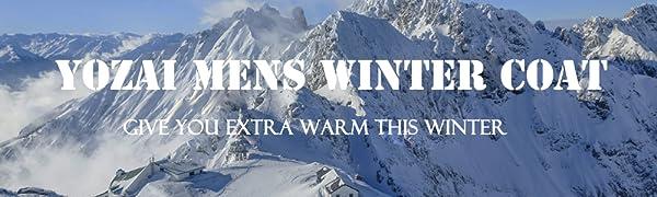 men heavy winter parka coats