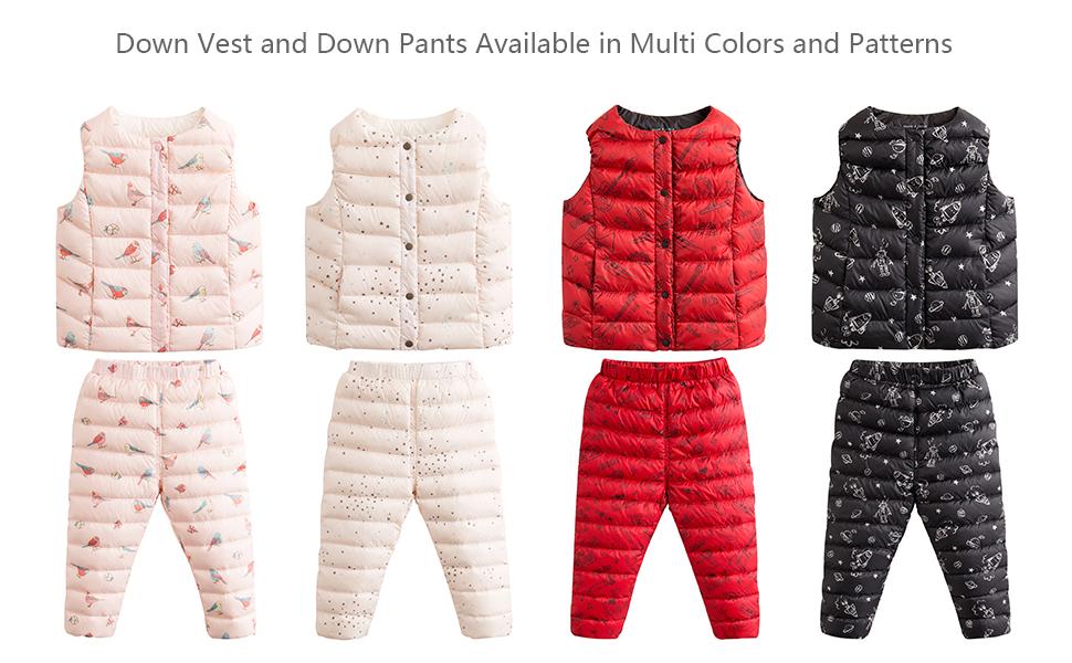 f1405d6d729c Amazon.com  marc janie Girls Boys  Lightweight Packable Down Puffer ...