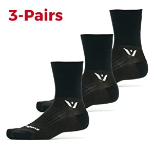 Performance Four Running and cycling socks, 3 Pairs