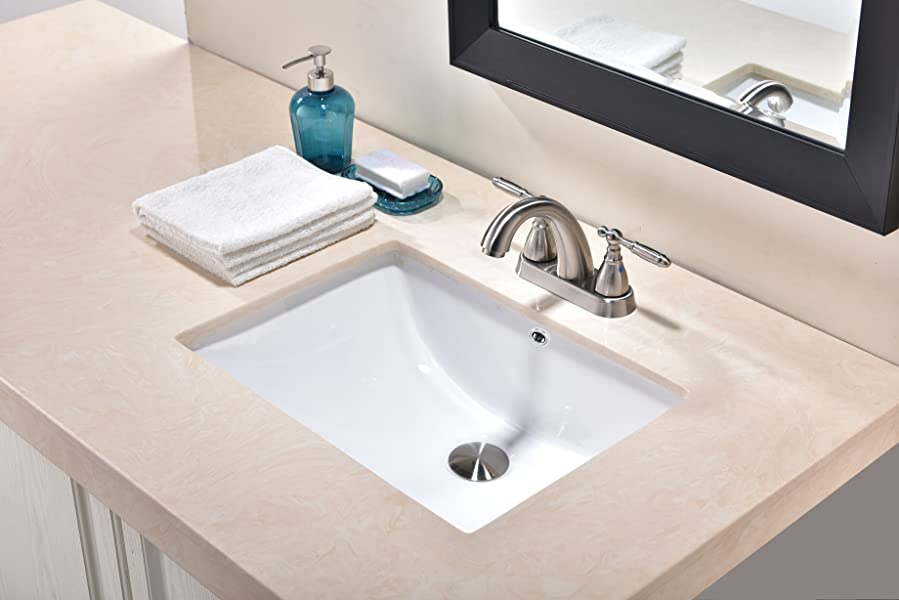 Friho 18 5 X13 8 X7 9 Modern Rectangular Undermount Vanity Sink