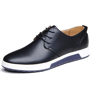 XMWEALTHY Mens Patent Leather Lace up Pointed Toe Wedding Dress Oxford