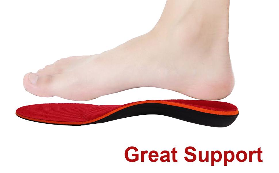 Gosuban Orthotic Insoles for Flat Feet