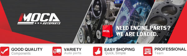 MOCA HNBR Timing Belt /& Water Pump Kit for 2006-2012 Subaru Forester Non-Turbo Manual Transmission /& 06-11 Impreza /& Outback 2.5L H4 SOHC EJ25