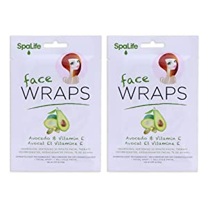 avocado vitamin e face wraps