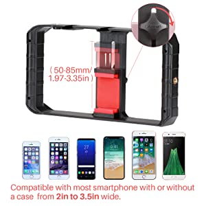 iphone filming case